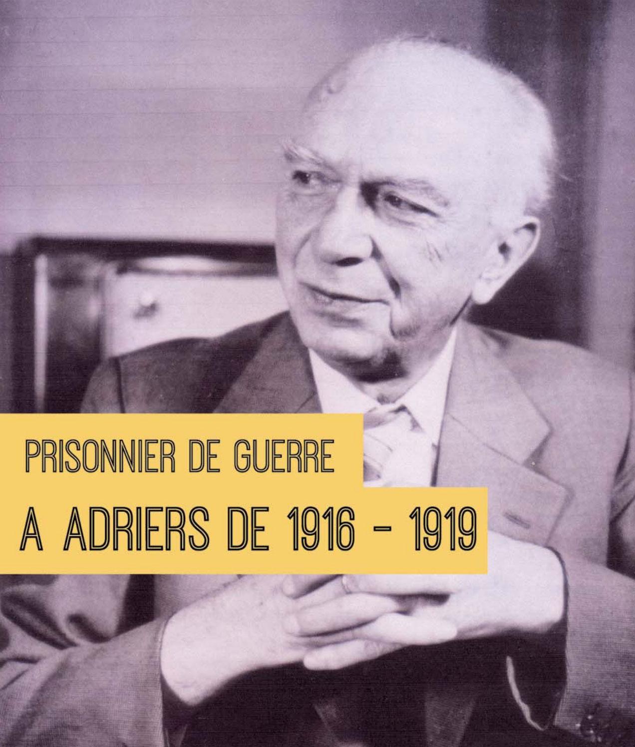"""Conférence """"Mémoire d'un prisonnier de guerre"""""""