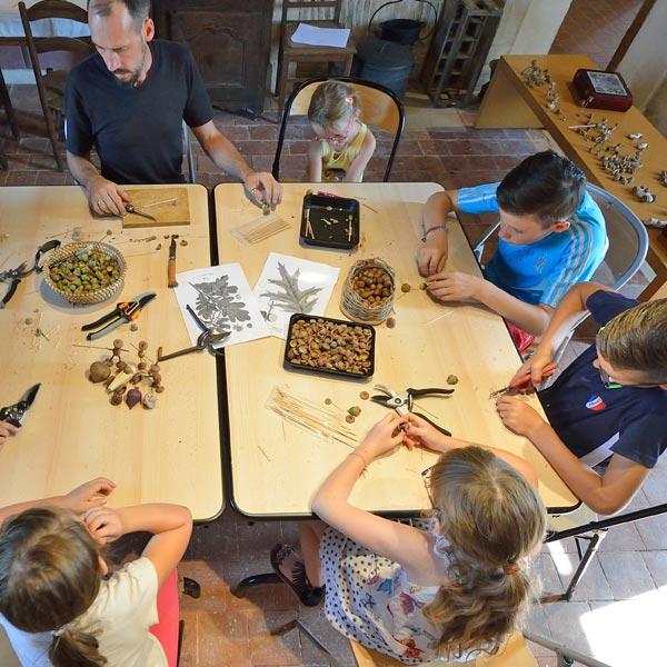 Ateliers de création pour enfants et/ou familles