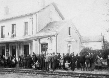 Mosellans à la gare