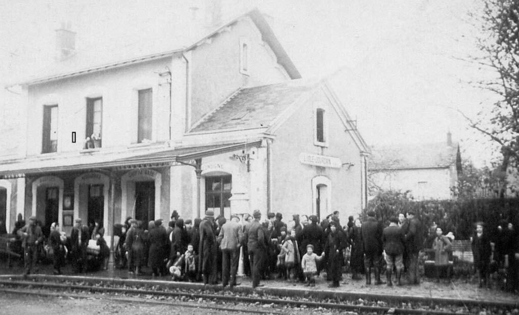 """Visite commentée de l'exposition """"Accueil des mosellans 1939-1940 entre Vienne et Gartempe"""""""