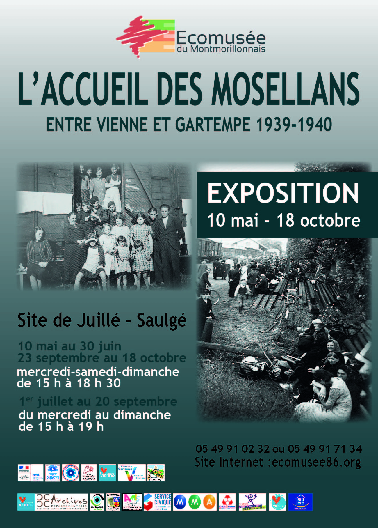 Visite exposition et film sur l'accueil des Mosellans en 1949-1940
