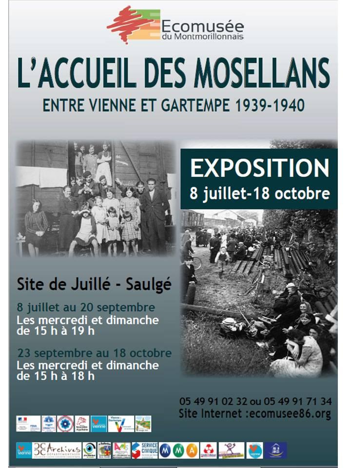Visite exposition et film sur l'accueil des Mosellans en 1939-1940