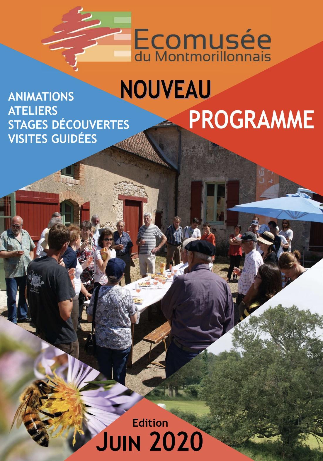 Programme 2020 de l'Ecomusée - Edition juin 2020
